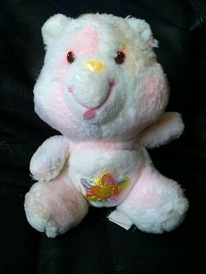 "* Vintage 1980's Kenner 6"" Plush True Heart Care Bear"