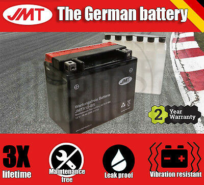 JMT Maintenance free battery- Honda VTR 1000 F Fire Storm - 1997
