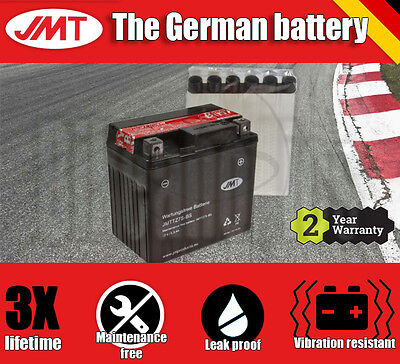 JMT Maintenance free battery- BMW HP4 1000 Competition ABS - 2014