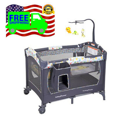 Baby Trend pack n play Yard portable playpen Nursery Infant Bassinet For Babies
