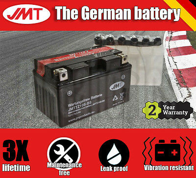 Premium JMT Maintenance free battery - TTZ10S-BS- Yamaha MT-07 700 - 2015