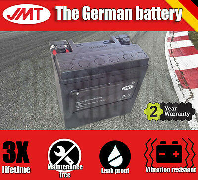 JMT Maintenance free battery- Harley XL 1200 X Sportster Forty Eight - 2012