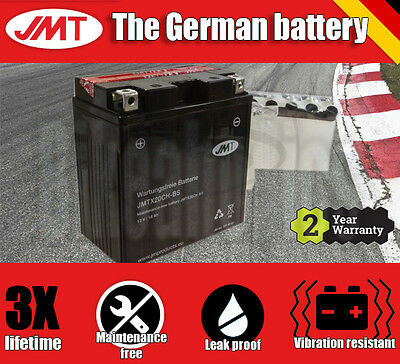 JMT Maintenance free battery- Moto Guzzi Norge 1200 ABS - 2008