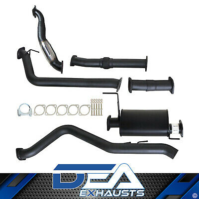 """Holden Rodeo Ra 3L Td 2007 - 2012 3"""" Turbo Back Exhaust With Cat And Muffler"""
