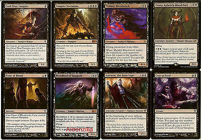 MTG Vampire (Black) Deck - Nocturnus Anowon Malakir Drana - Magic the Gathering
