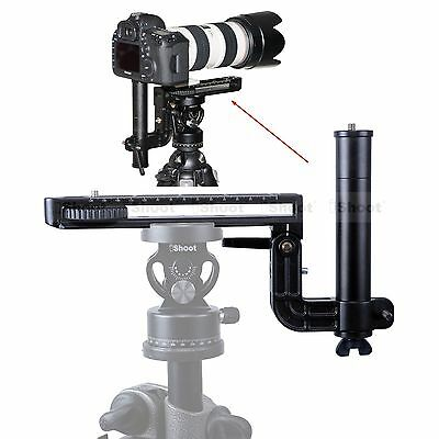 Long-Focus Lens Bracket Holder Camera Quick Release Plate for Tripod Ball Head
