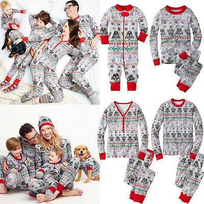 New Star Wars Christmas Family Matching Pajamas Set Sleepwear Nightwear Pyjamas