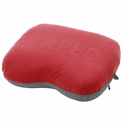 New Exped DownPillow M Camping Hiking Lightweight Sleeping Pillow Red Size Large