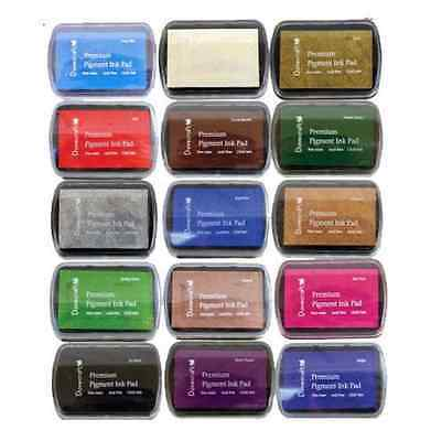 Dovecraft Premium Pigment Ink Pads - Choice of 15 Colours