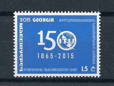 Georgia 2015 MNH ITU International Telecommunication Union 150th 1v Set Stamps