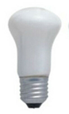 Enlarger lamp ES 75Watt 240v white Mushroom shape ( 10 Pack)