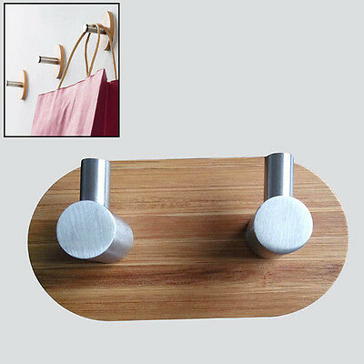 Newly Wall Hook Home Decor Towel Clothes Hanger Stainless Steel Thicken Pothooks