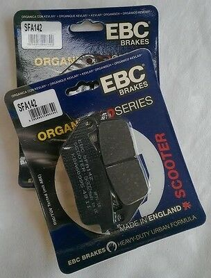 Suzuki AN650 Burgman / Skywave (03 to 15) EBC FRONT Brake Pads (SFA142) (2 Sets)