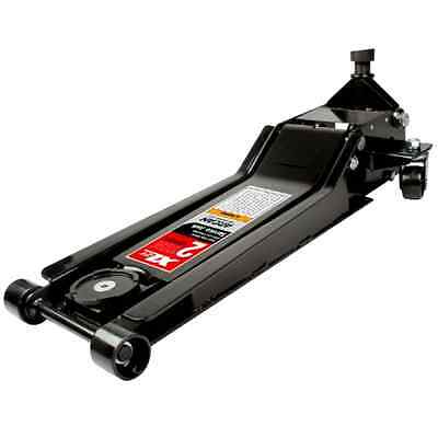Steel Service Jack Tool 2 Ton Capacity 32 Inches Extra Long Chassis Arcan XL2T