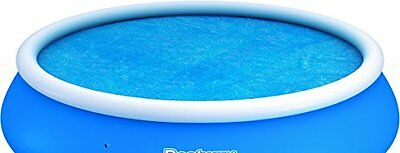 Bestway Fast Set Solar Pool Cover - Blue, 15 Ft
