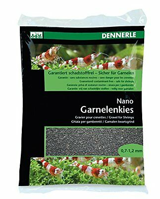 Dennerle Nano Shrimps Gravel Bed, 2 Kg, Sulawesi Black