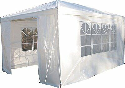 Airwave 3 x 4m Party Tent Gazebo Marquee with Unique WindBar and Side Panels