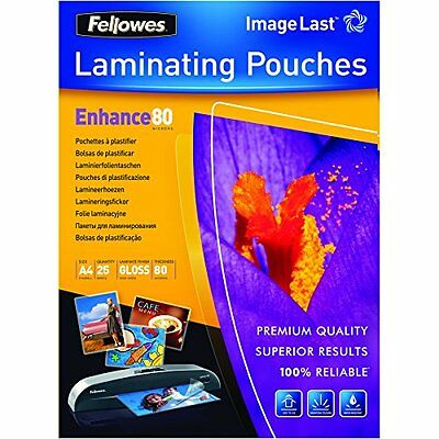 Fellowes ImageLast A4 80 Micron Laminating Pouch - (Pack of 25)