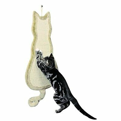 Trixie 43112 Cat Shaped Scratching Post 35  69 cm Beige