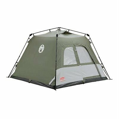 Coleman Instant Tourer Tent for Four Person - Green/White