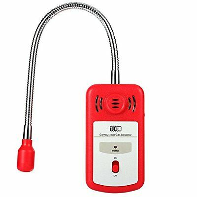Tonor Combustible Gas Detector Portable Gas Leak Tester with Sound-light Alarm