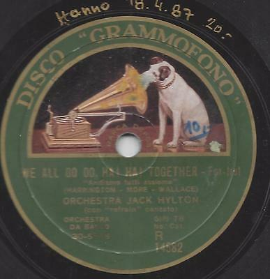 Jack Hylton Orchester mit Gesang : Sitting On A Five-Barred Gate