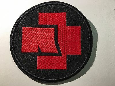 RAMMSTEIN Logo Patch - Embroidered Iron On Patch 3 ""