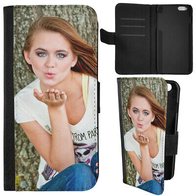 Personalised Custom Phone Cover Case For Apple Iphone Many Models Leather Flip