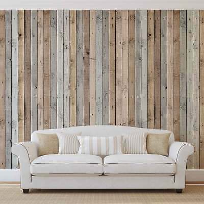 WALL MURAL PHOTO WALLPAPER XXL Wood Planks Texture (1036WS)