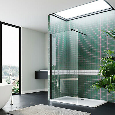 Walk In Shower Enclosure Wet Room Screen Panel 8mm Easy Clean Glass Screen