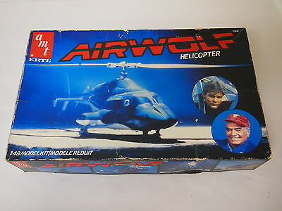 AMT / ERTL 1/48 Scale Airwolf Helicopter  -