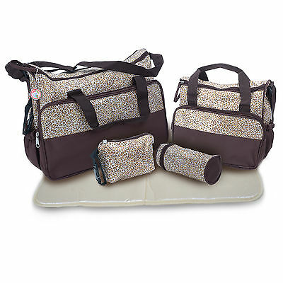5x Baby nappy changing bag set 5PCS Brand New Cute diaper bags New