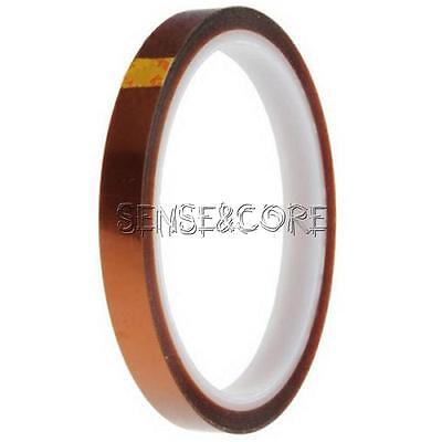 10mm 100ft Kapton Tape BGA High Temperature Heat Resistant Polyimide Gold