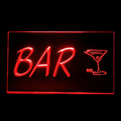170152 Cocktail Cup BAR NEW Open Beer Pub Mixed-up Mixologist LED Light Sign