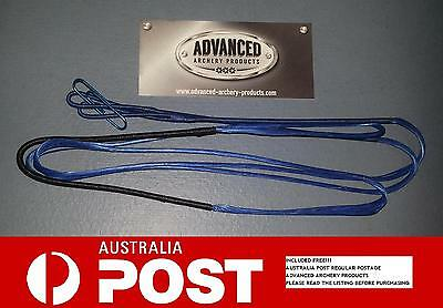 Recurve Archery Bow String (BLUE 8125G Material) Australian Made. All Lengths