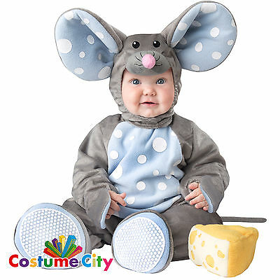 Babies Toddlers Cute Little Mouse Halloween Animal Fancy Dress Party Costume