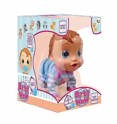 IMC Toys Baby Wow Interactive Doll