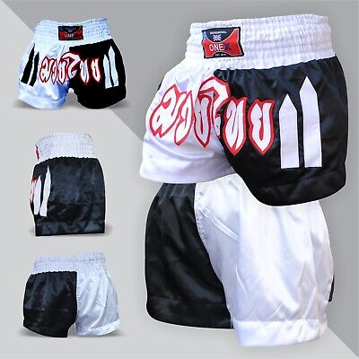 New Muay Thai Shorts MMA UFC Kick Boxing Martial Arts Training Trunks Fighting