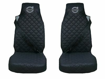 Volvo FH12 , FH16 Truck Seat Covers 2 piece (1+1) BLACK FH3