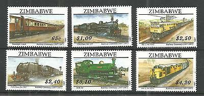Zimbabwe 1997 Railways Sg,954-959 Un/mm Nh Lot 903A