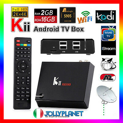 K2 Pro DVB-S2 DVB-T2 Android 7.1 2GB Quad Core 2GHz 16GB TV Box WiFi K1