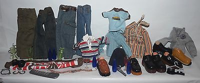 """Bratz MGA Boy's clothes Outfits for 9 1/2"""" Tall - lot of clothes + accessories"""