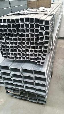 Galvanised square post 6m length! New Size Back In Stock !!!