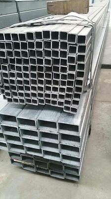 Galvanized square post 6m length