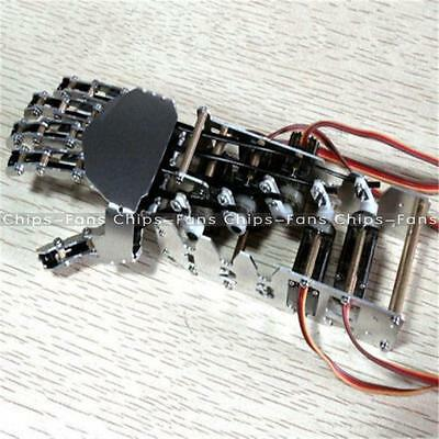 5DOF Humanoid Five Fingers Metal Manipulator Arm Right Hand with A0090 Servos CF