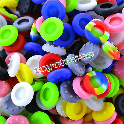 10x Cool Analog Controller Silic Cap Cover Thumb Stick Grip for PS3 PS4 XBOX ONE
