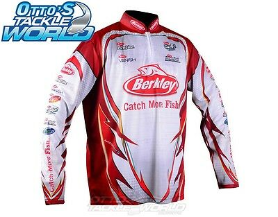 Berkley Tournament Pro Tec Jersey Fishing Shirt ALL Sizes BRAND NEW at Otto's