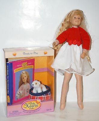 Only Hearts Club Karina Grace doll, book and pet Cupcake poseable OHC Group new