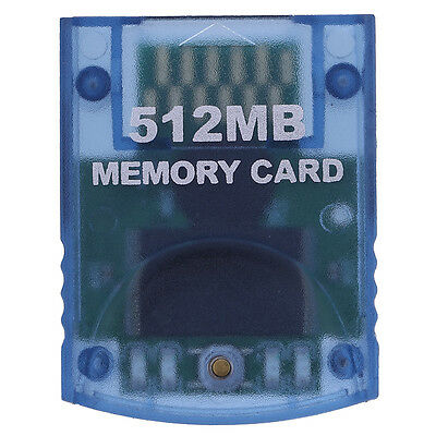 New 512MB Memory Card Stick for Nintendo Wii Gamecube NGC Console Video Game