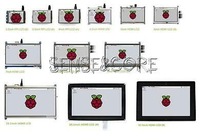 Display für Raspberry Pi 3 / 2 / B+ 2.4 bis 5.0 inch LCD Touch Screen New